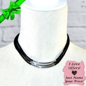 Jewelry - Faux Leather Choker ~0cd40s0sc2